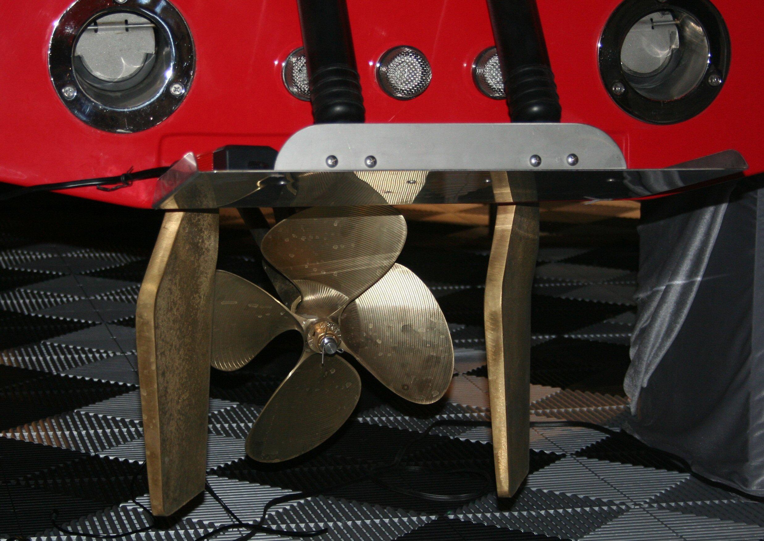 Duel rudder Vector system